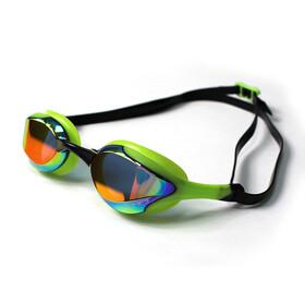 Zone3 Volaire Streamline Racing Goggles, mirror lens-green/black